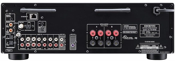 TX-8140 Back Side View