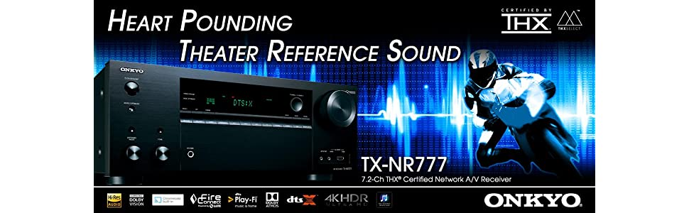 Theater Reference Sound Onkyo TX NR777