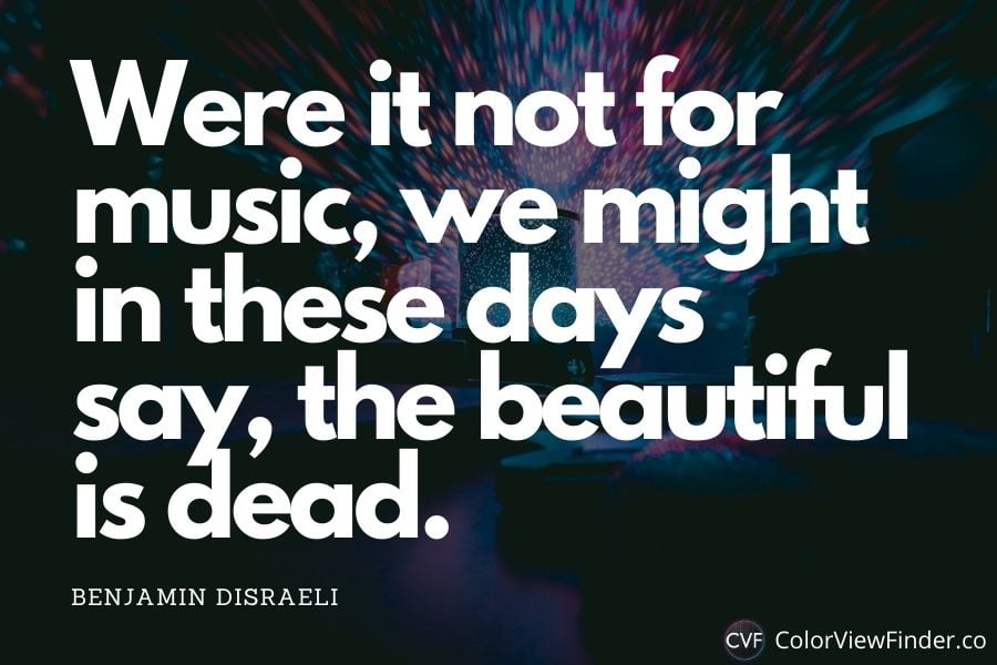 Music and Life Quote - Were it not for music, we might in these days say, the beautiful is dead.