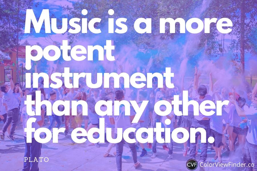 Music Education Quote - Music is a more potent instrument than any other for education