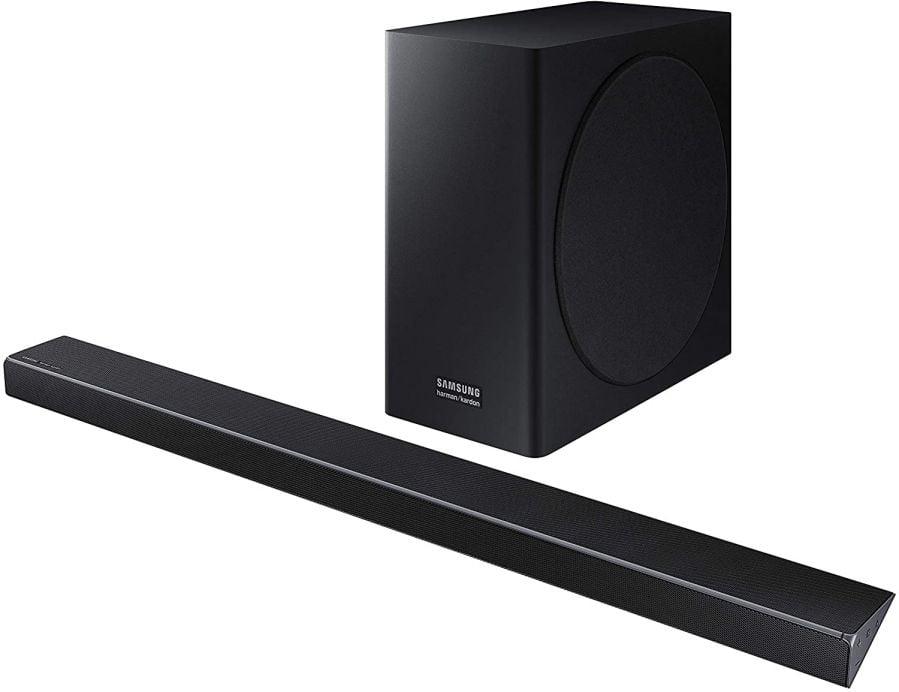 Samsung Harman Kardon 3.1.2 Dolby Atmos Soundbar HW-Q70R with Wireless Subwoofer