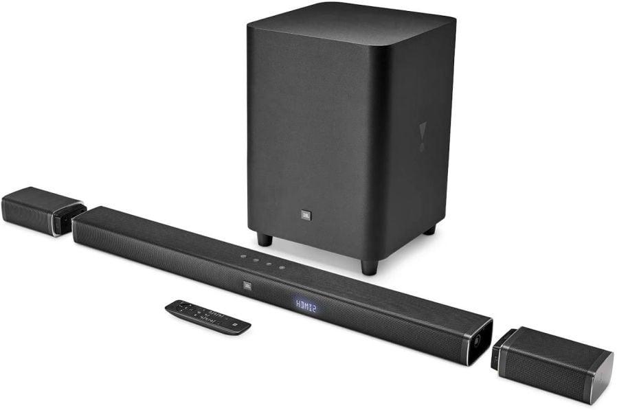 JBL Bar 5.1 - Channel 4K Ultra HD Soundbar with True Wireless Surround Speakers