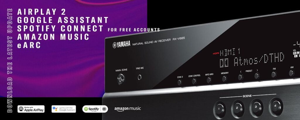 Features Yamaha RX-V685