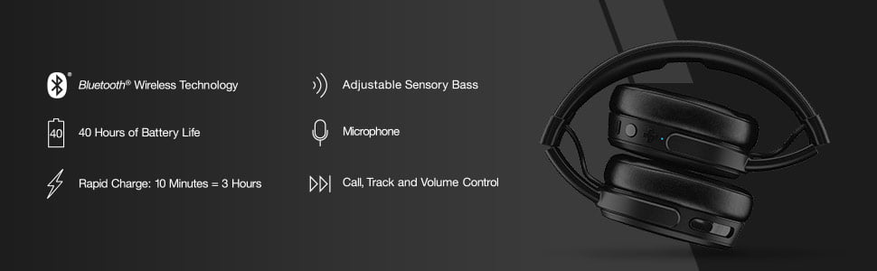 Skullcandy Crusher Wireless Features